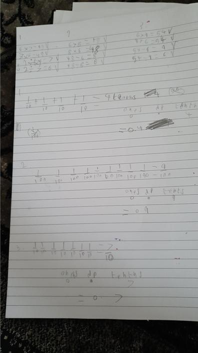 Ilyes' maths work