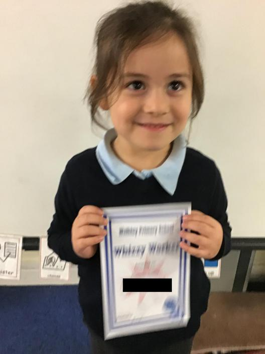 Whizzy Worker for fantastic counting skills and number recognition