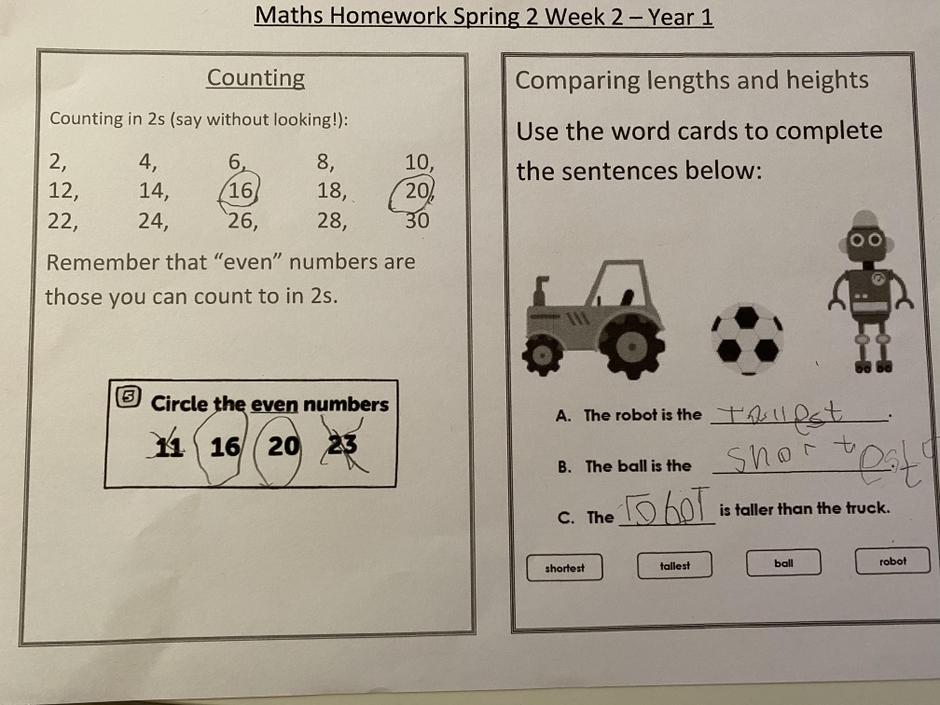 Great homework.