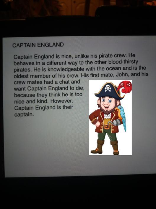 Great character description!