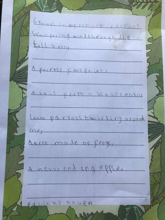 What great descriptions! Well done!