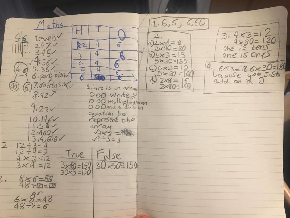 Brilliant work! Wish - /* 'Add a zero -> Multiply by 10' :)