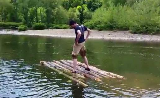 A Wooden Raft