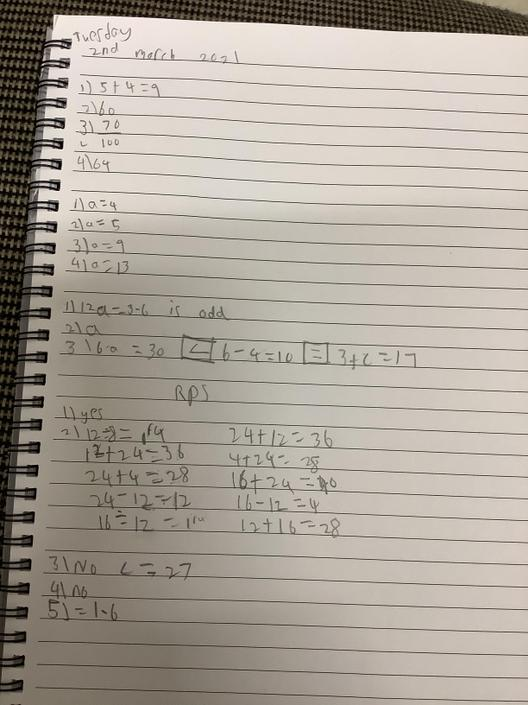 MS- Great algebra! You have solved the equations!