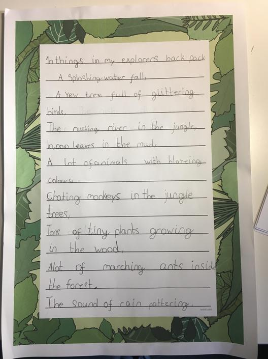 A fabulous poem  and very neatly presented.
