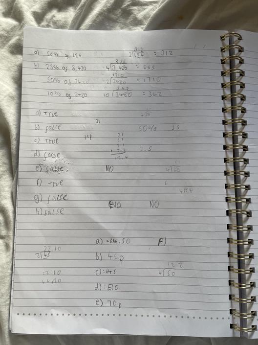 AT- Impressive maths!