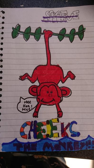 Beth's Cheeky Chimp