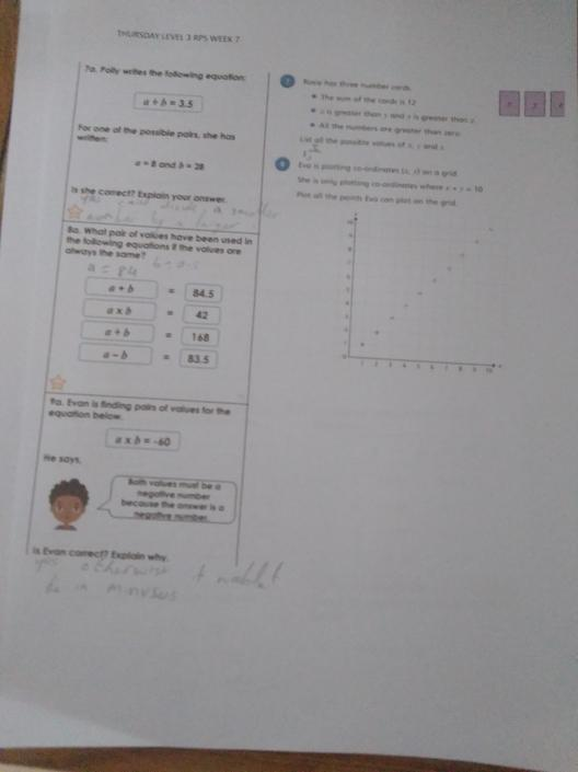 KP- Wow! Clever maths!! Great work on level 3!!