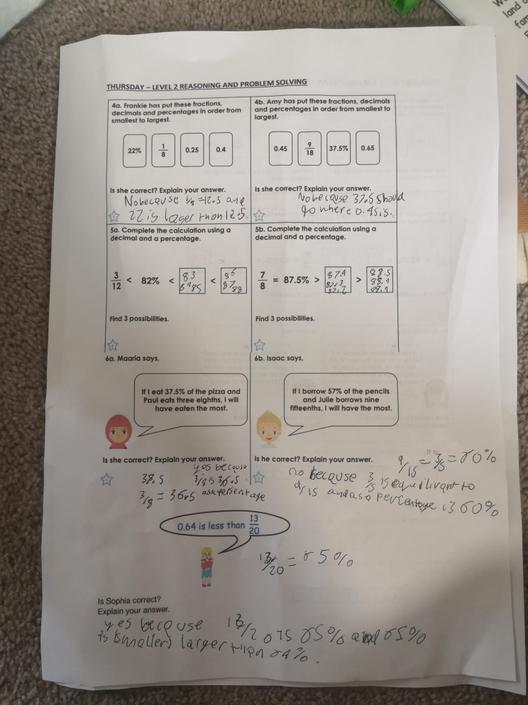DB- Great reasoning! Well done! Check 6A... 3/8 = 37.5%