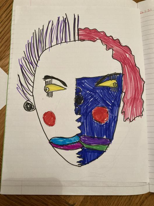 Esme's portrait
