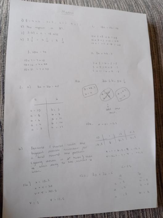 RW- Perfect algebra!