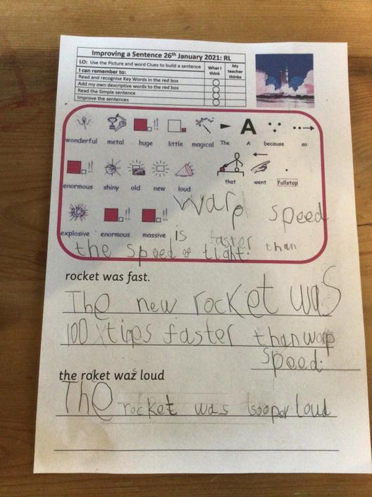 Fantastic sentences. Well done!