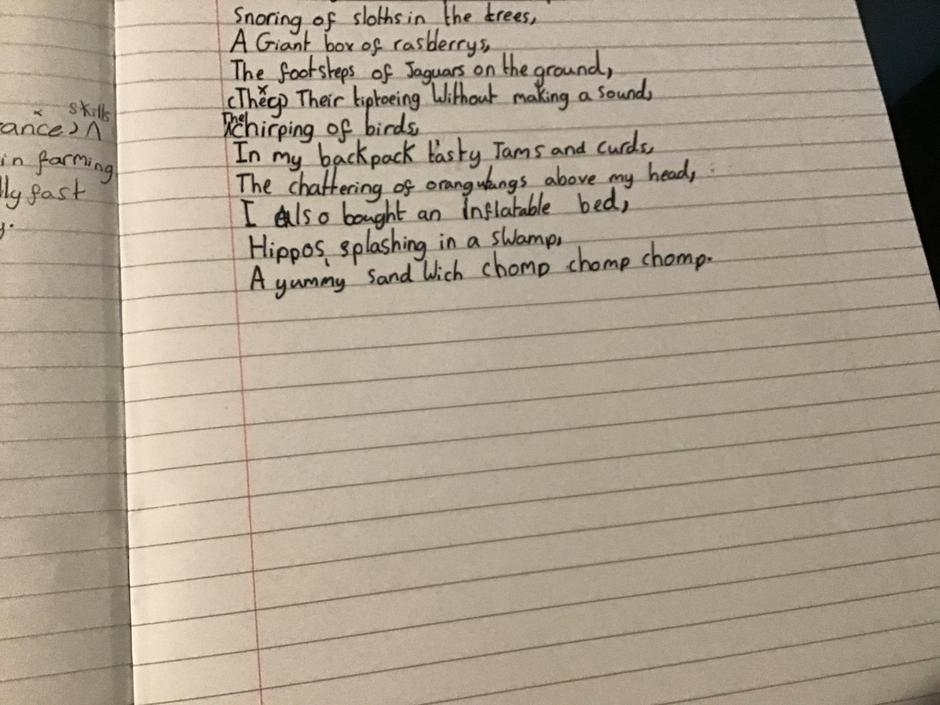 What a fantastic first draft and edit - I love your poem!
