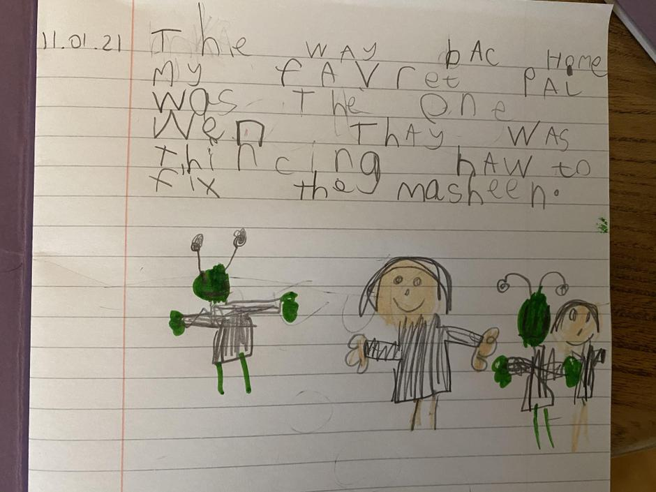 Wow, fantastic writing and great picture