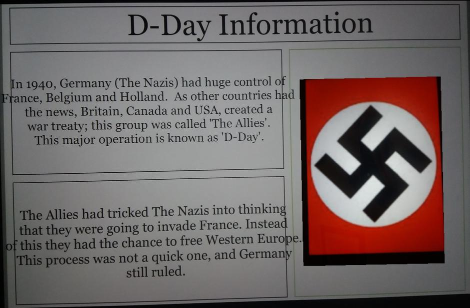 Some great facts about why D Day was needed! Well done XS!