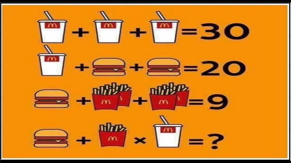 McDonalds Riddle