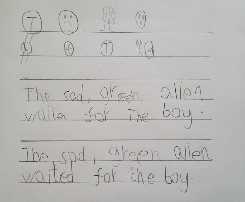 This writing is so neat. Wow you really tried hard!