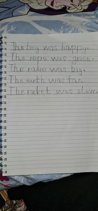 These sentences are so neat!