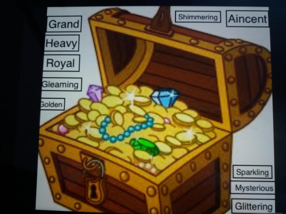 XS, great vocabulary to describe the treasure! I may have to use this word list myself!