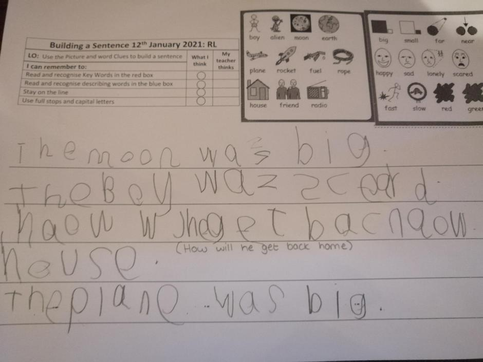 Great writing. Try to make your smaller words smaller and tall letters tall.