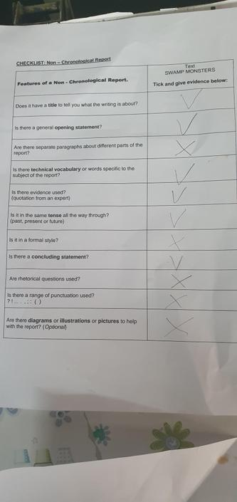 IL- Good use of the checklist.