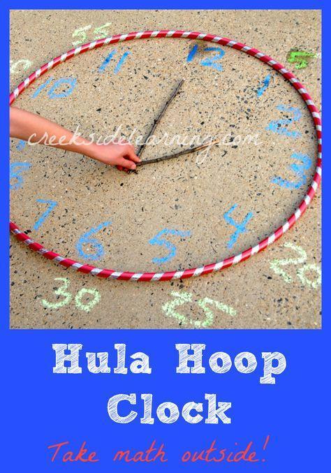 Hula Hoop and Chalk