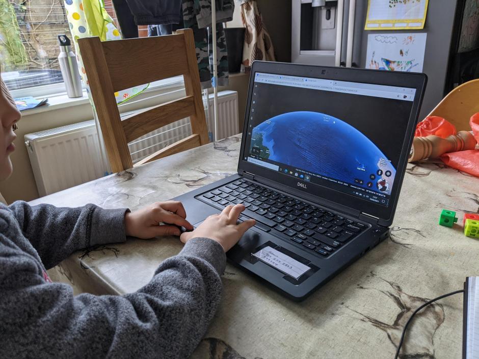 Great google earth hutning