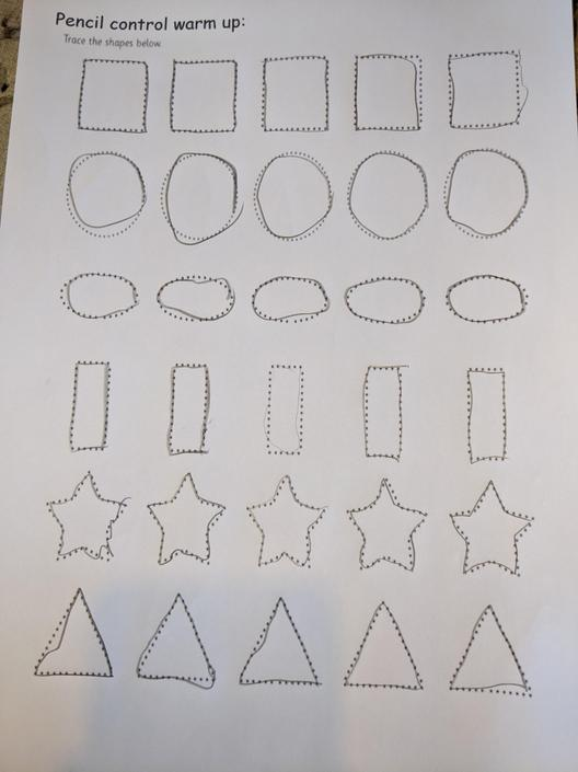 Very careful, try your own pattern next.