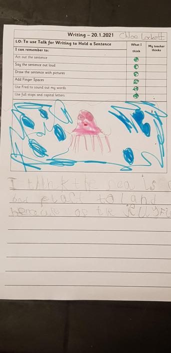 Oh no! Jellyfish!!! Eric shouldn't land there!