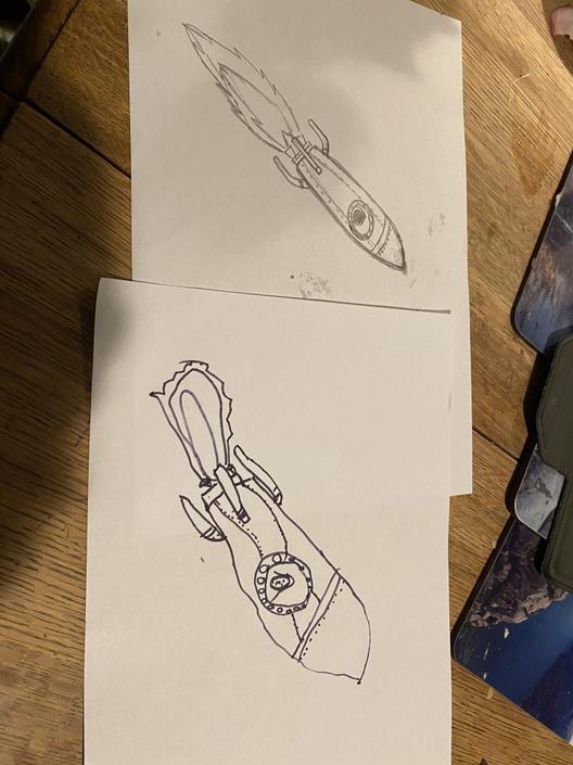 Mine and Leona's rockets