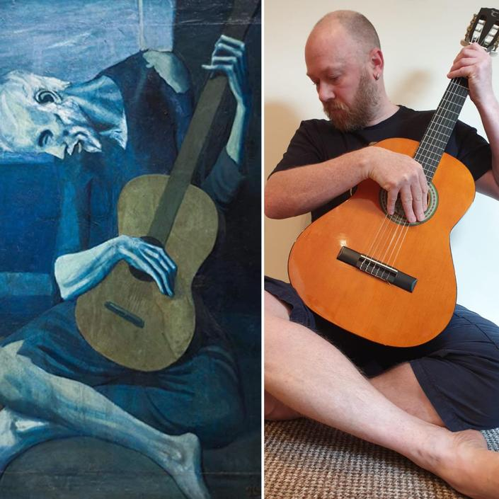 The Old Guitarist - Picasso