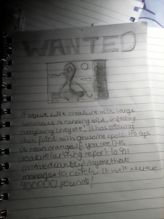 ASho- Great wanted poster. That is a large reward!!
