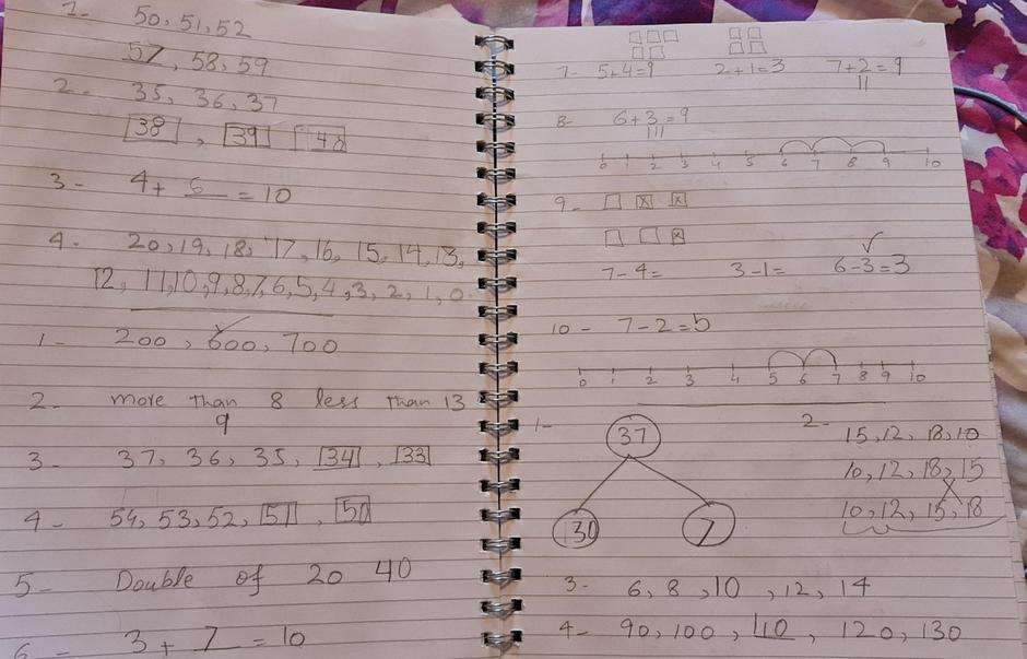 10/10 for CLIC 5 and well done for revising the number ordering question.