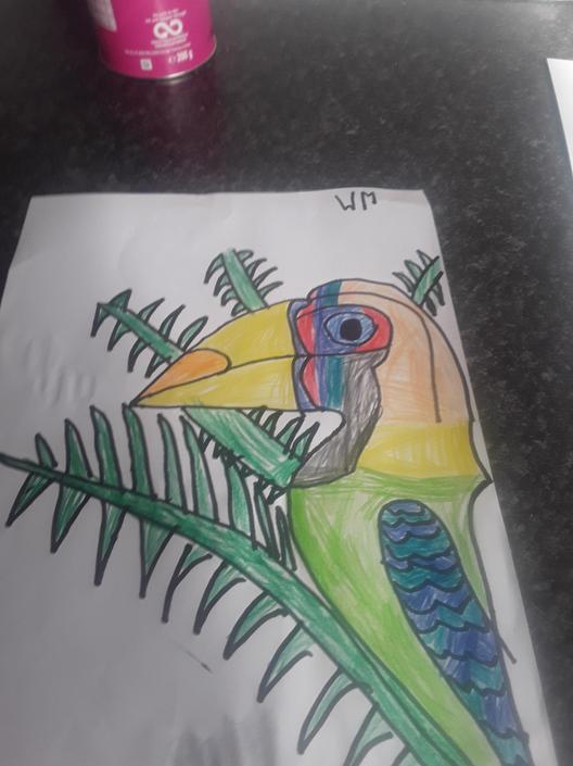 A terrific toucan!