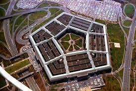 The Pentagon building in Washington, USA