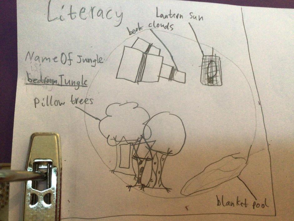 I love the idea of book clouds!