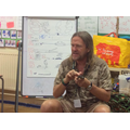 A visit from the animal man in Years 1 and 2