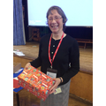 Mrs Wallbridge from Operation Christmas Child