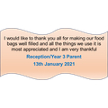 Our food parcel feedback!