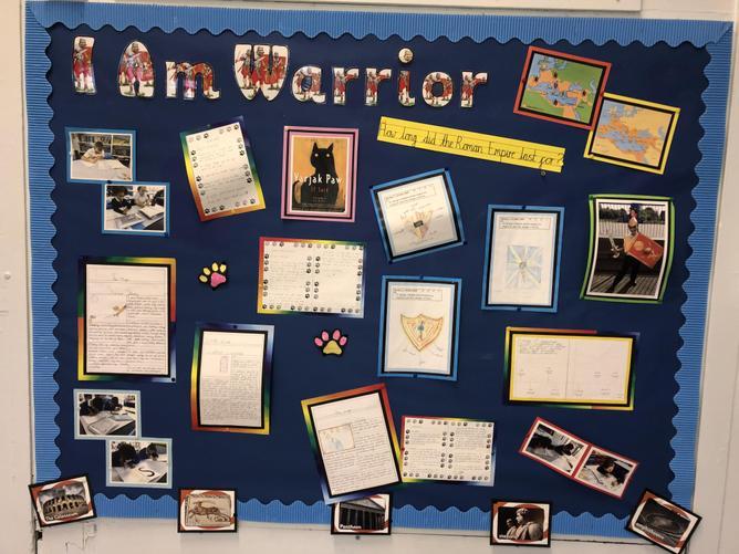Y4 I am Warrior