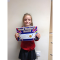 Well done Katherine