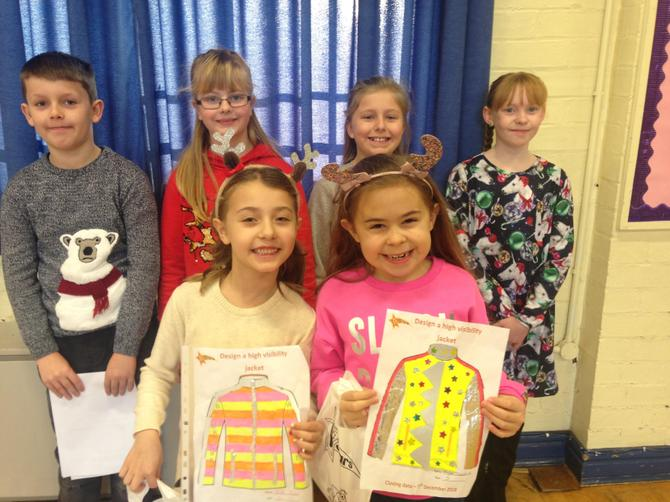 Year 3 Be Bright Be Seen Winners