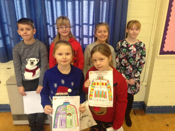 Year 4 Be Bright Be Seen Winners
