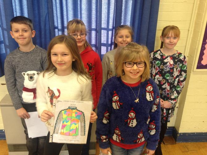 Year 5 Be Bright Be Seen Winners