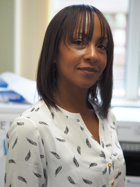 Zarrah Hayles: Receptionist