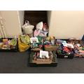 Food and toiletry donations