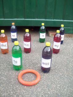 hoopla with bottles