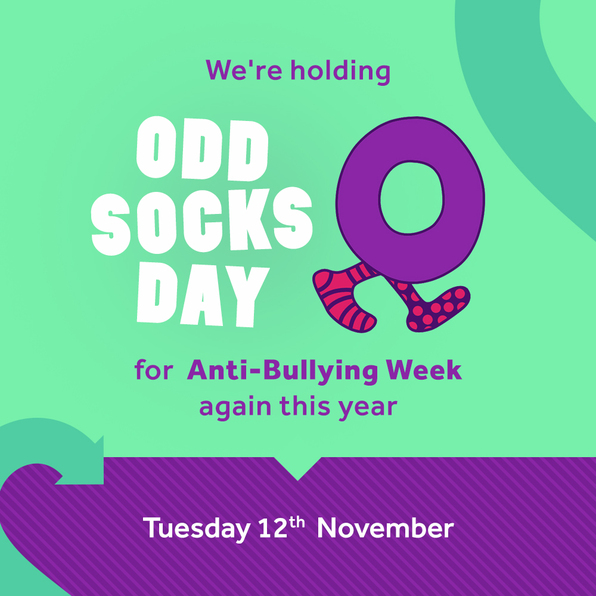 Wear odd socks to school on Tuesday 12 November