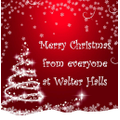 Merry Christmas from everyone at Walter Halls