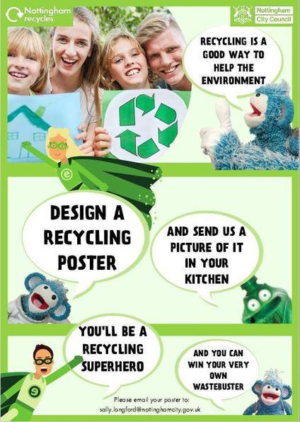 Waste buster poster